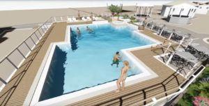 nuova piscina Lido delle Sirene